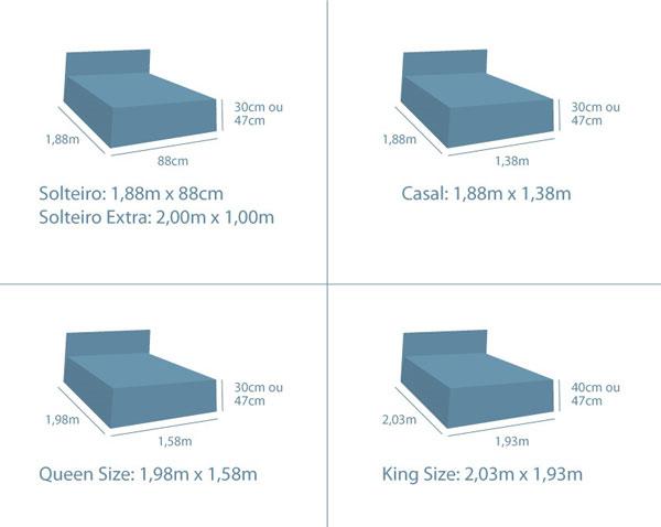 Acc marcenaria for Medidas de colchones de cama